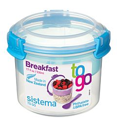 Recipient pentru mic dejun 0.53L To Go Sistema