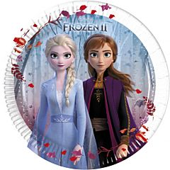 Set 8 farfurii party 20 cm Frozen