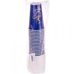 Pahare cafea unica folosinta 200 ml + capac, set 20 bucati