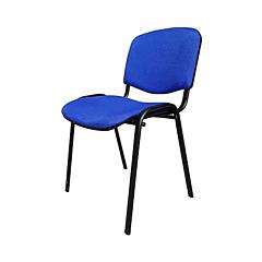 Scaun birou ISO C6, stofa, Albastru