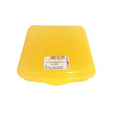 Cutie pentru sandwich, capacitate 0.5L, culoare galben, Cyclops