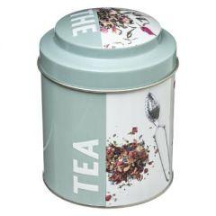 Cutie metalica pentru depozitare ceai
