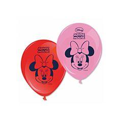 Set 8 baloane party Minnie
