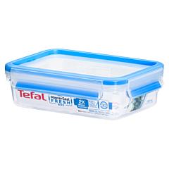 Caserola dreptunghiulara 0.8L, material plastic, Tefal