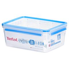 Caserola dreptunghiulara 3.7L, material plastic, Tefal