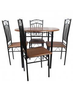 Set masa Olivia cu 4 scaune