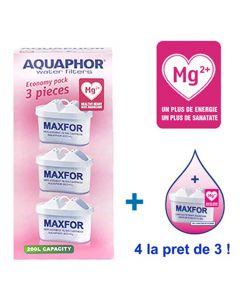 Set 3+1 filtre Maxfor Aquaphor cu magneziu B25Mg