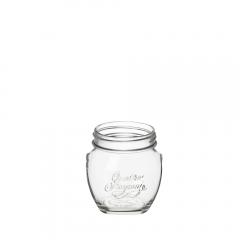 Borcan sticla cu capac 0.5 L Quattro Stagioni Anfora, Bormioli