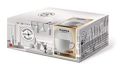 Set cafea pentru 6 persoane , opal, Bormioli Parma, 220 ml