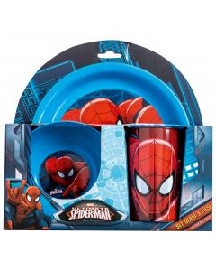 Set dejun 3 piese Spiderman