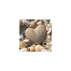 Set 20 servetele 33x33 cm, Stone Heart