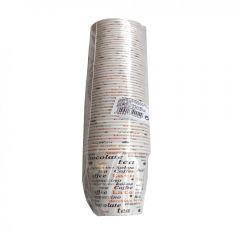 Set 50 pahare carton capacitate 360 ml