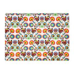 Suport de farfurii din pluta 40x29,5 cm , Folk