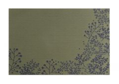 Suport de farfurii din PVC 30x45 cm crengi galben ,Nordic