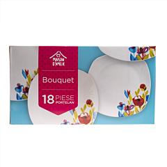 Set vesela 18 piese Bouquet, Maison D'Amelie