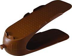 Suport suprapozabil pantofi, PP, 30 cm, Maro