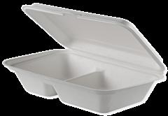 Set 8 caserole biodegradabile 23x15 cm, 1000 ml
