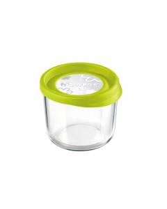Caserola rotunda 12 cm Frigoverre Fun, verde, Bormioli
