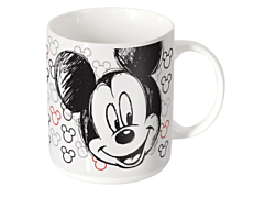 Cana 460 ml, modele Mickey Mouse