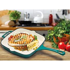 Grill fonta email 26x26x5 cm, Chef Sorin Bontea