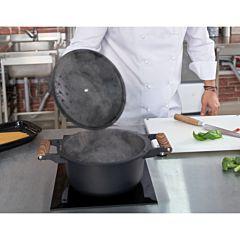 Cratita aluminiu + capac 2.7 L, Chef Sorin Bontea