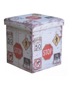 Taburet pliabil model Stop