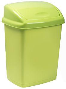 Cos gunoi cu capac batant 27 L, verde