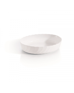 Vas termorezistent oval 37x28 cm Trianon Ovenware, Luminarc