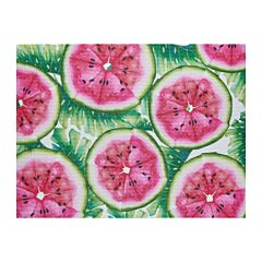 Suport de farfurii din PVC/PS 30x40 cm pepeni ,Tropical