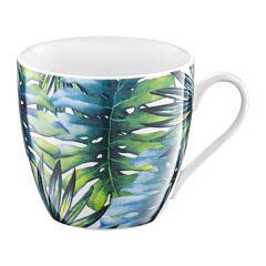 Cana 510 ml frunze, Tropical