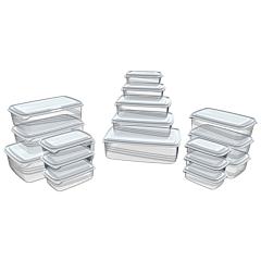 Set 17 caserole plastic
