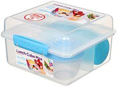 Cutie pentru alimente Lunch Cube Max cu sticla pentru apa, Sistema