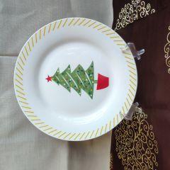 Farfurie desert cu bradut 19.1 cm