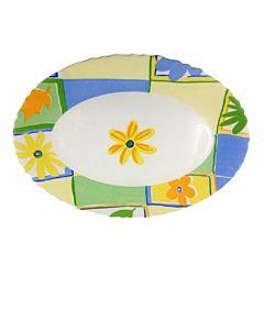 Platou oval Valensole Luminarc, opal, 33x25 cm, Multicolor