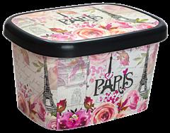 Cutie depozitare cu capac 50 Litri Paris