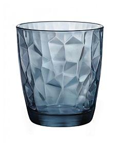 Pahar apa Diamond, 30 cl, Albastru