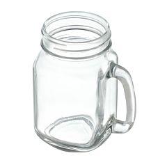 Halba tip borcan Heinner, sticla, 450 ml, Transparent
