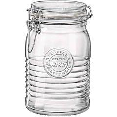 Borcan ermetic Officina Bormioli, sticla, 1 L, Transparent