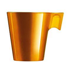 Ceasca cafea Flashy Longo Luminarc, 22 cl, Auriu