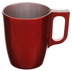 Ceasca cafea Flashy Coulis Luminarc, 25 cl, Rosu