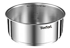 Craticioara Ingenio Emotion Tefal, inox, 16 cm, Argintiu