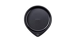 Tava pentru copt rotunda Magic Pyrex, metal neaderent, 26 cm, Negru