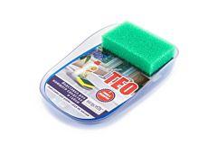 Suport pentru detergent si burete Teo, albastru