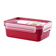 Caserola cu valva pentru microunde Tefal, plastic, 1 L, Rosu