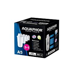 Set 4 cartuse filtrare A5 Aquaphor