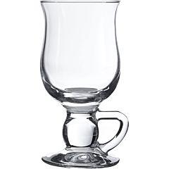 Set 2 pahare cu maner Pasabahce Irish Coffee, sticla, 270 ml, Transparent