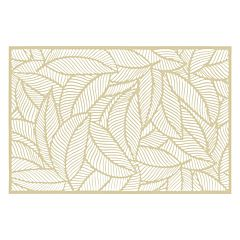 Placemat Jungle Secret de Gourmet, PVC, 45x30 cm, Auriu