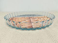 Forma tarta termorezistenta CRF Home, sticla borosilicata, 27x3 cm