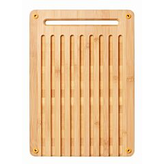 Tocator pentru taiat paine Functional Form Fiskars, lemn de bambus, Bej