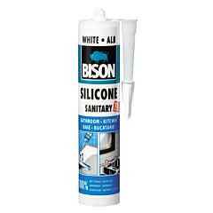 Silicon sanitar alb 280 ML, Bison